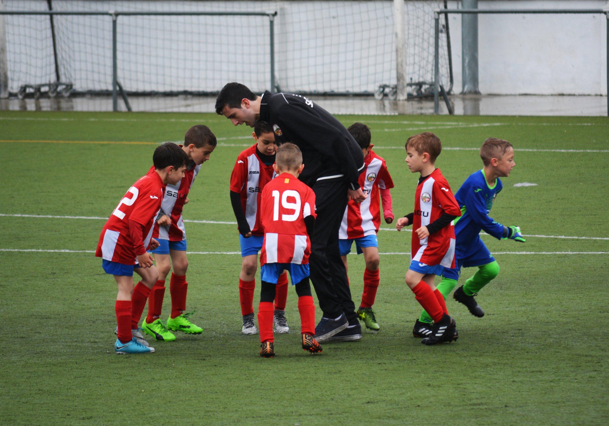 Primary school sports coach