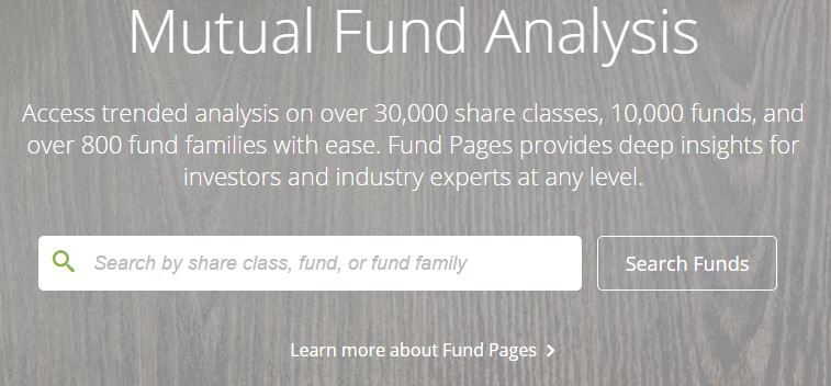 Fund Pages BrightScope
