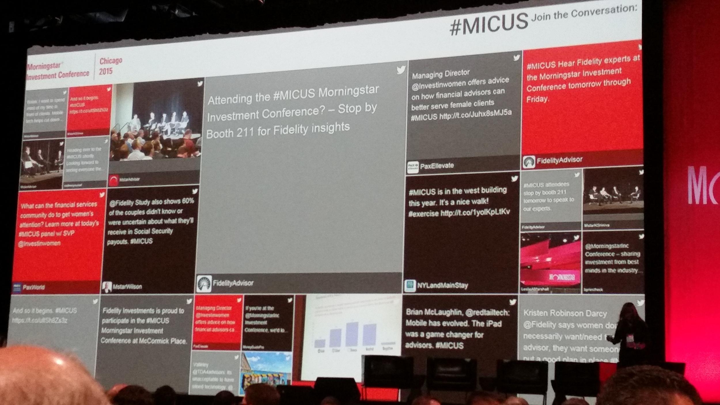 #MICUS Tweets