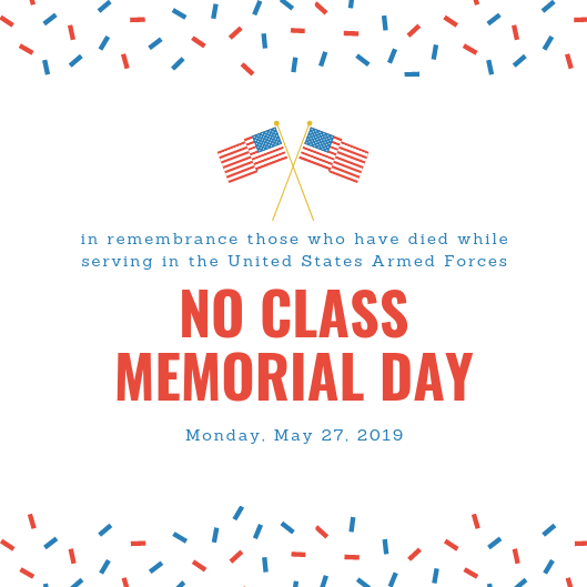No class memorial day.png