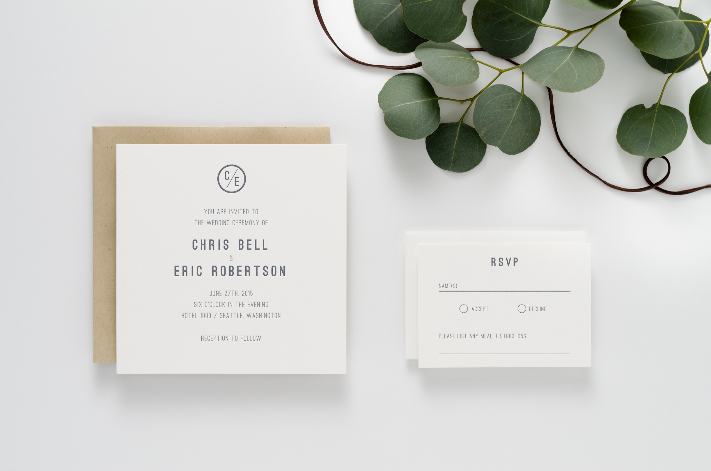 Harrison Invitation Suite
