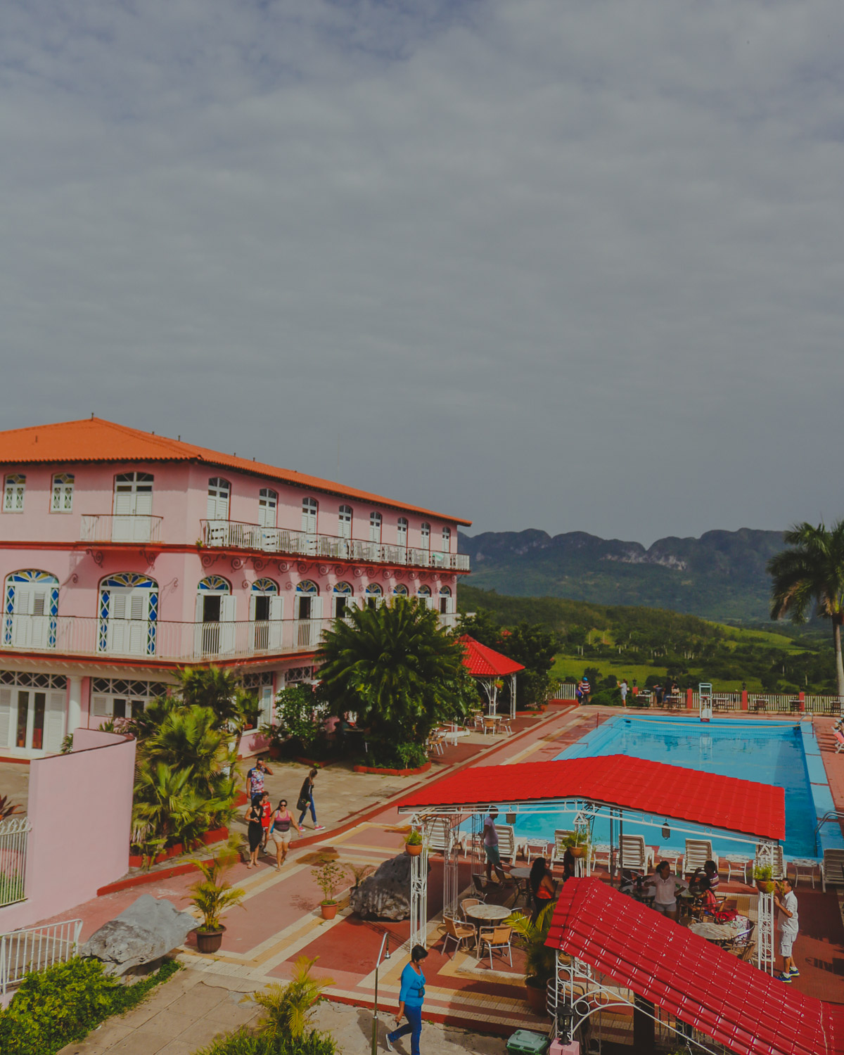 Hotel Los Jazmines, which was located right by the lookout point