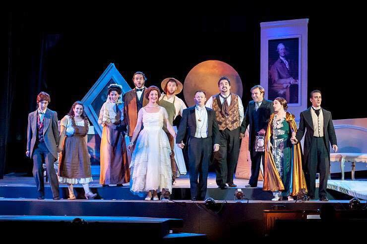Marriage of Figaro Act IV Finale, Opera Theater Pittsburgh 2015