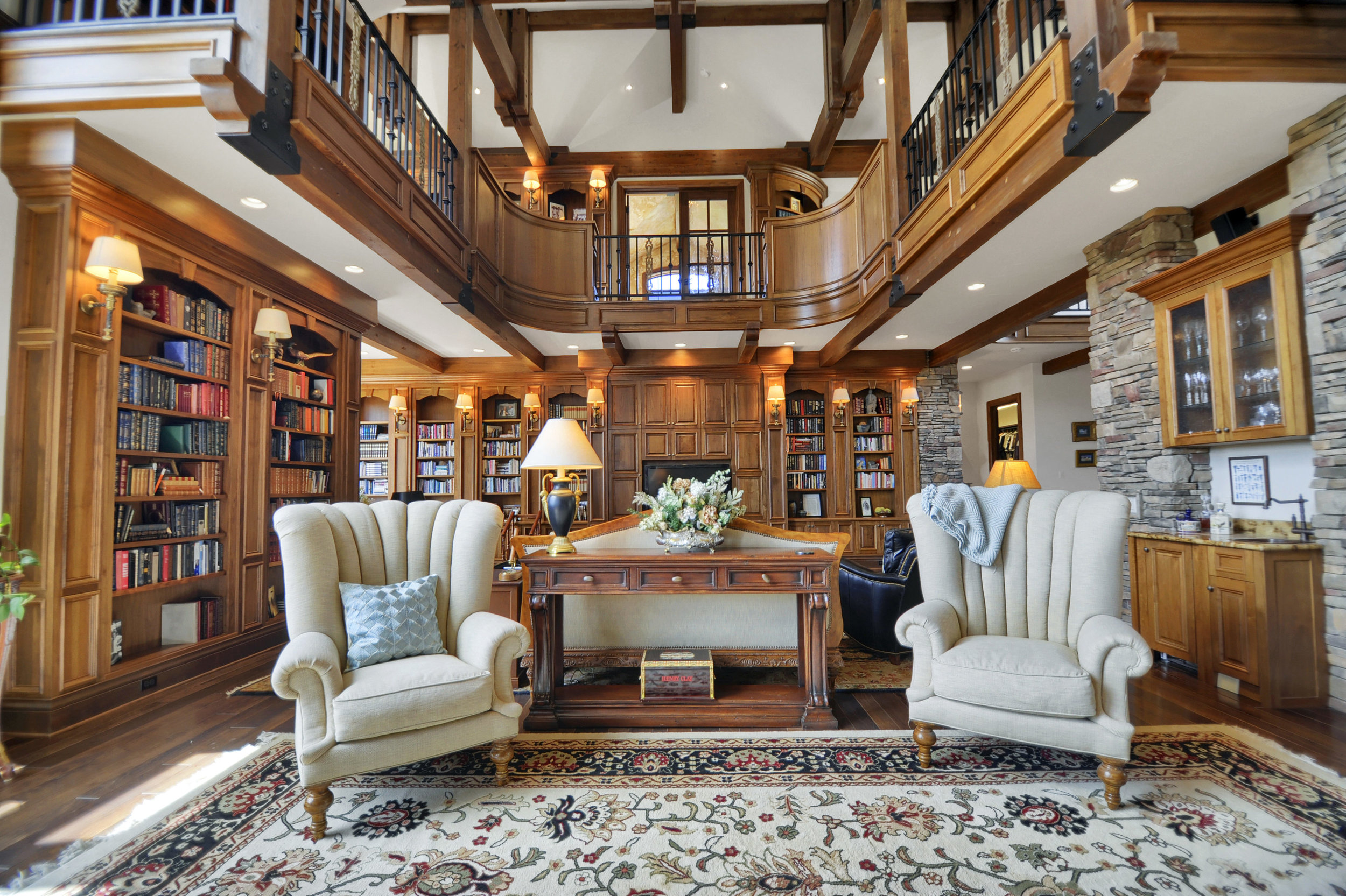 8 - Great room with overlook_l-brary above.jpg