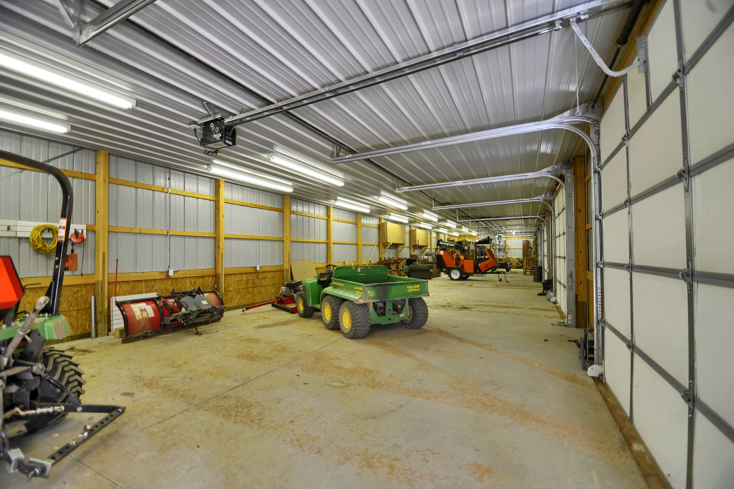 32 - One of two equipment garages.jpg