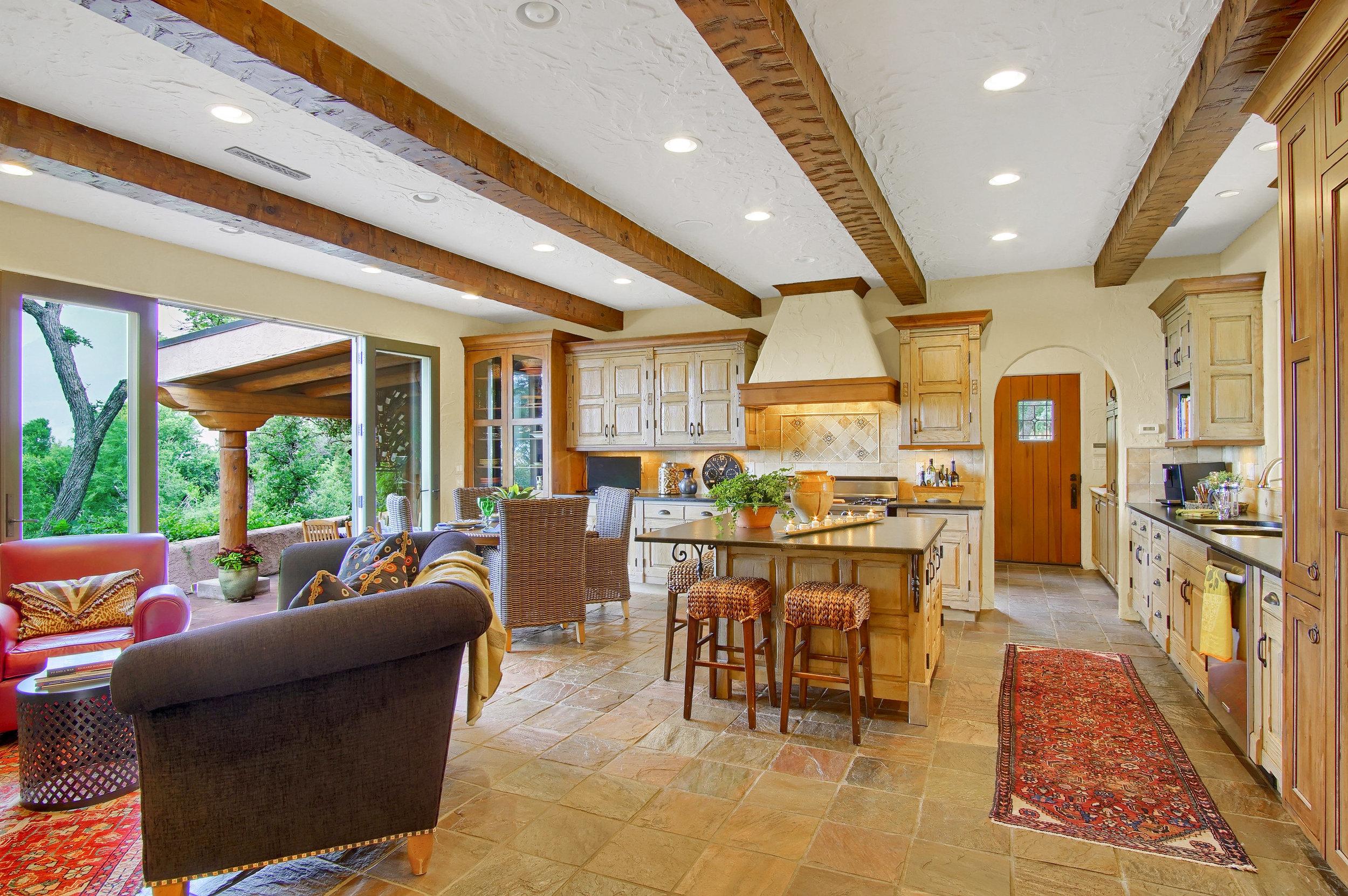 7 - Kitchen Opens to Rear Veranda with Pavilion.jpg
