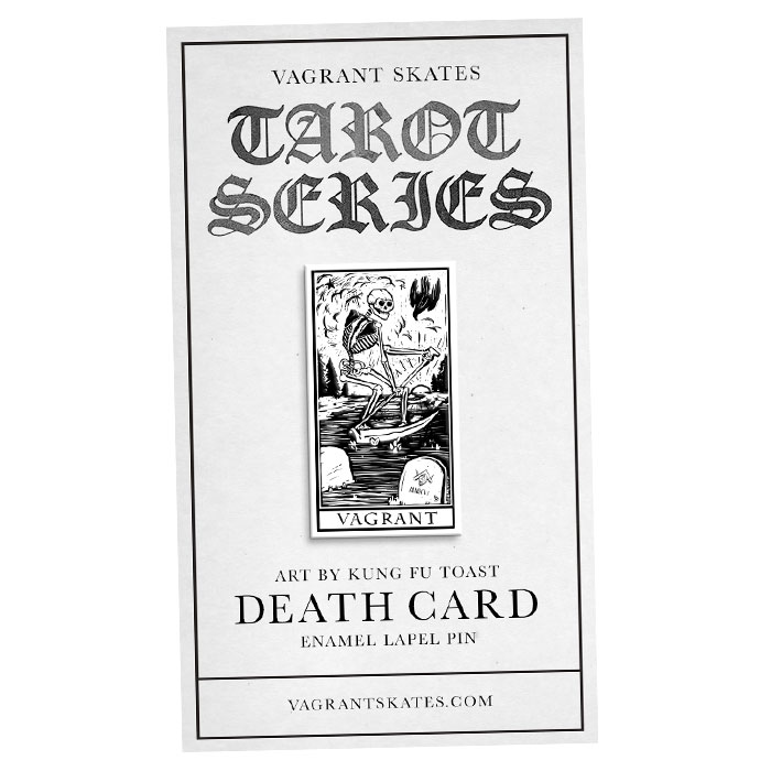 Death Card Lapel Pin        SHOP NOW