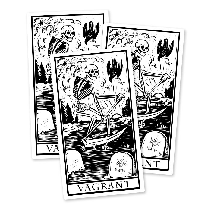 Death Card Stickers  SHOP NOW