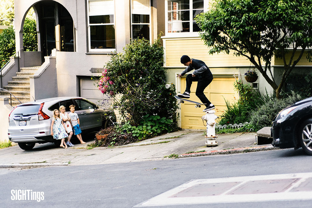Elijah Akerly, footplant. San Francisco, CA. Photo: @jacob.photo