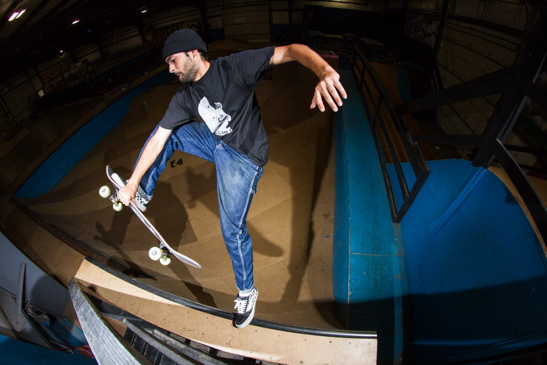 The squad all got some at Windell's but Jojo took it to the top rope of the indoor ramp with a good ol' slob plant. -