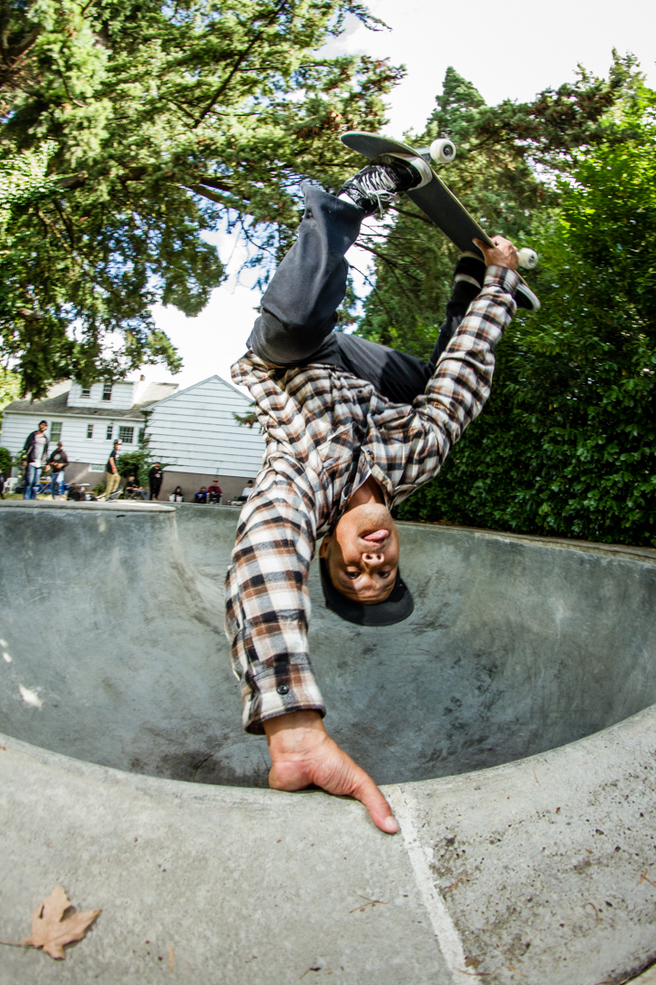 Livi met up with the squad out in Portland and HANDLED business! Proper egg over at Faulks, he showed up and shut down the session hands down. -