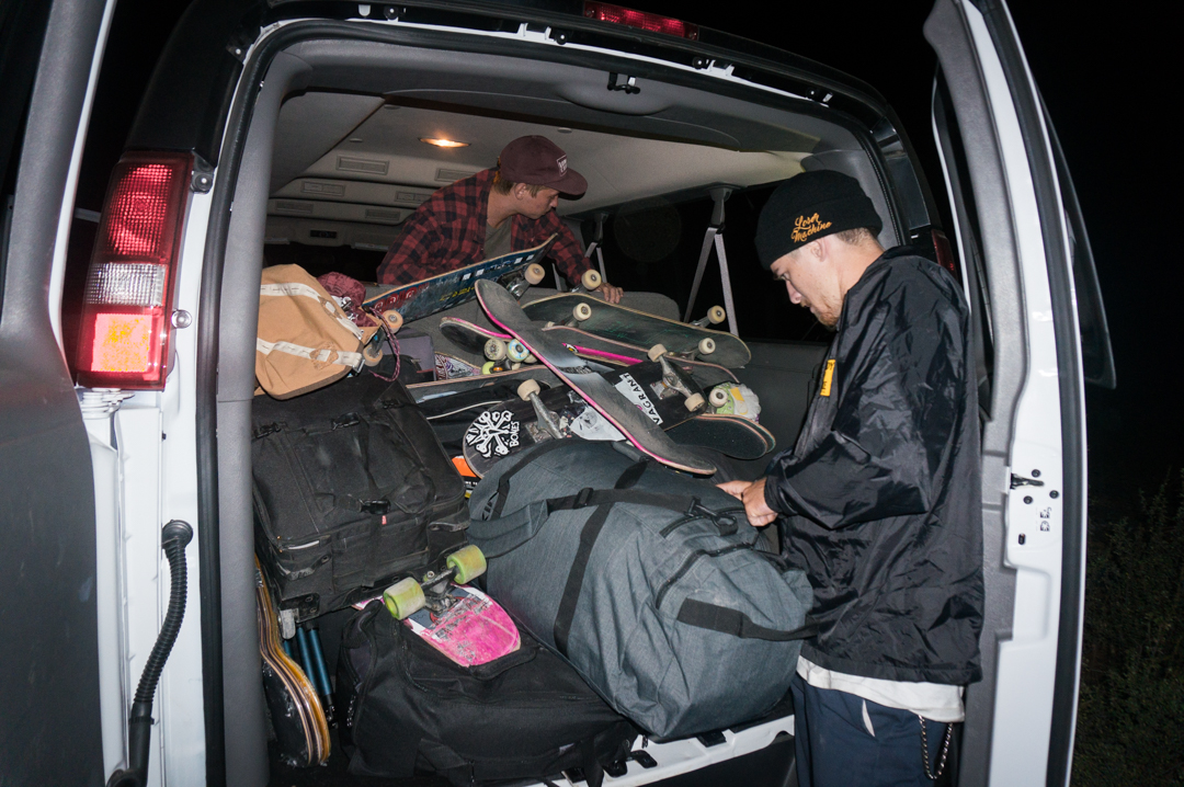 The van was stacked tough, but we made it work! -