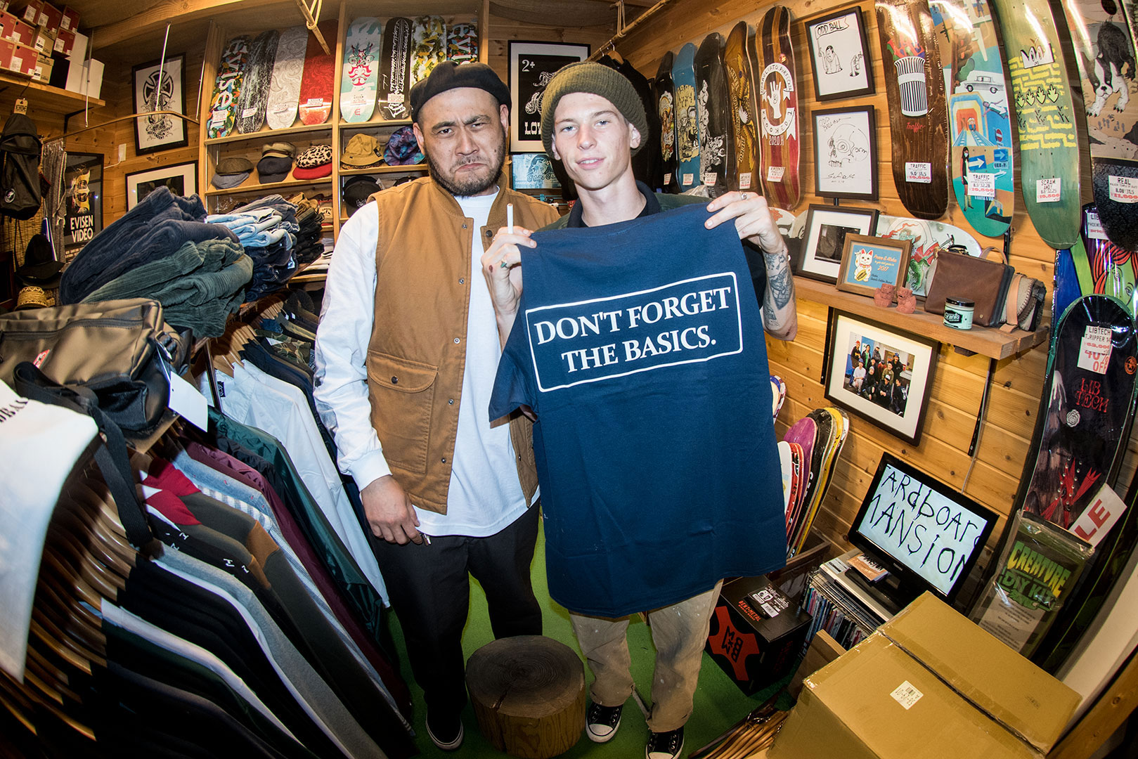 """Don't Forget The Basics"" Elijah & Oddball Skate & Snow"