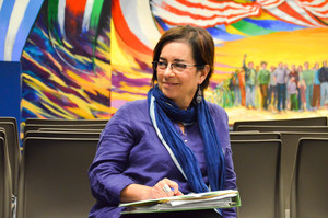 Rosa Cabrera, PhD. Director of the Rafael Cintrón Ortiz Latino Cultural Center. Links to center's website.