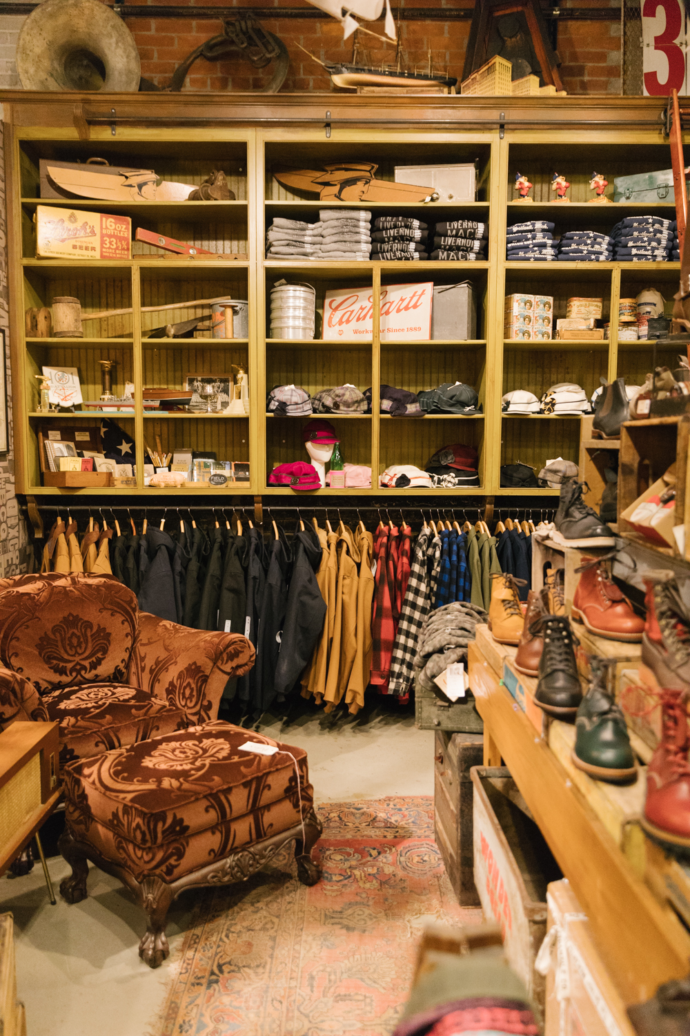 Detroit Mercantile Co. carries local goods from Michigan makers.