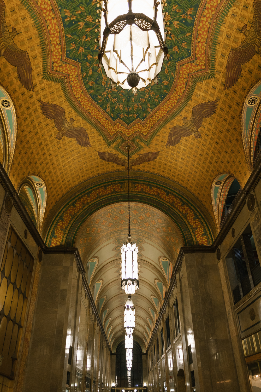 The Fisher Building is a landmark skyscraper located in the heart of the New Center area of Detroit, Michigan.
