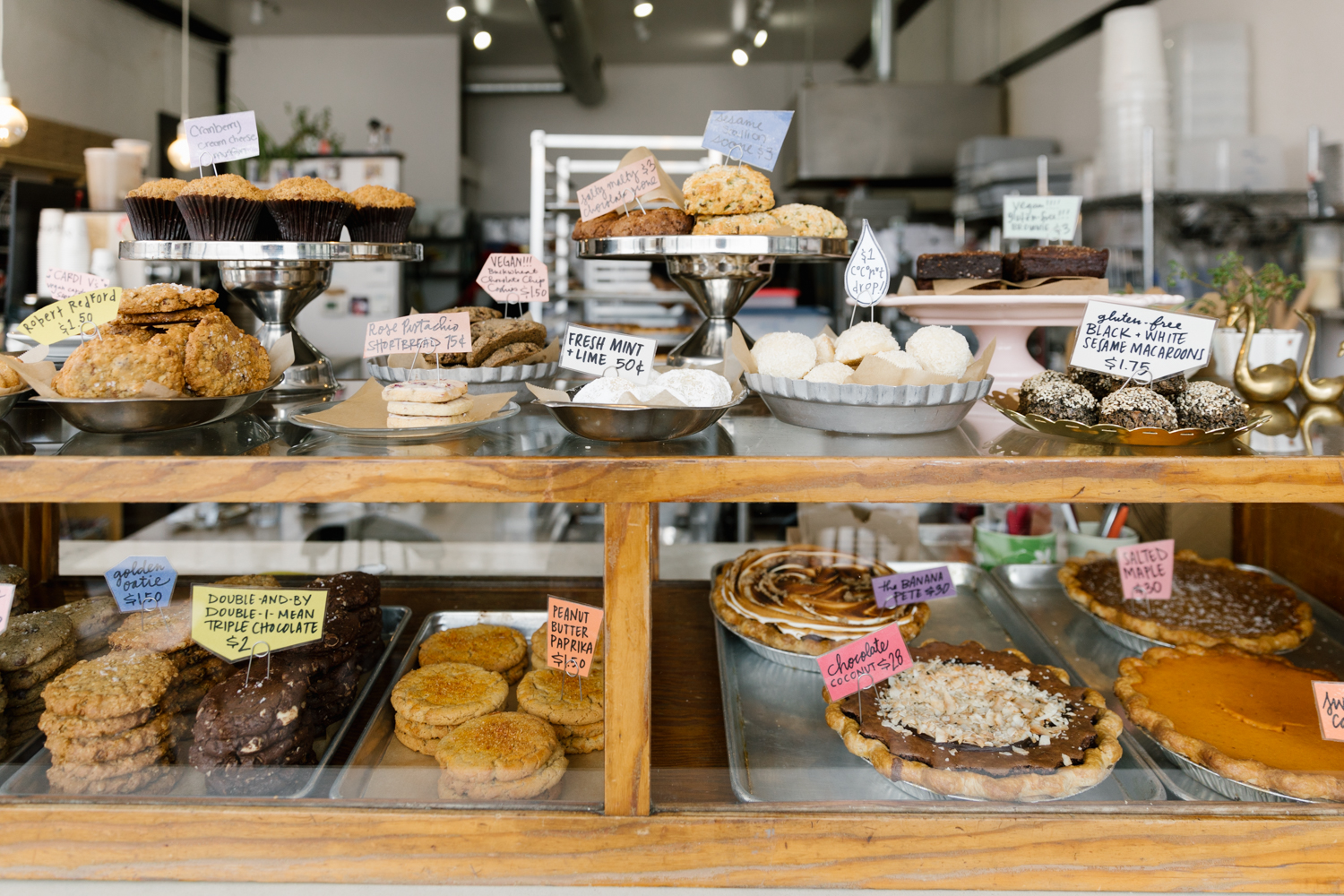 Sister Pie is a quaint bakeshop emphasizing creative, sweet and savory pies made with local, seasonal ingredients.