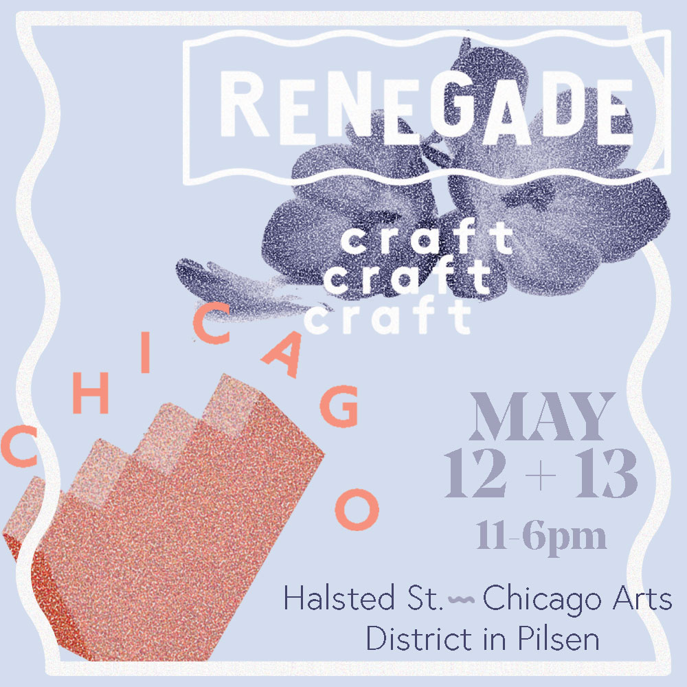 Driftless Magazine will be attending Renegade Craft Fair in Chicago in May.