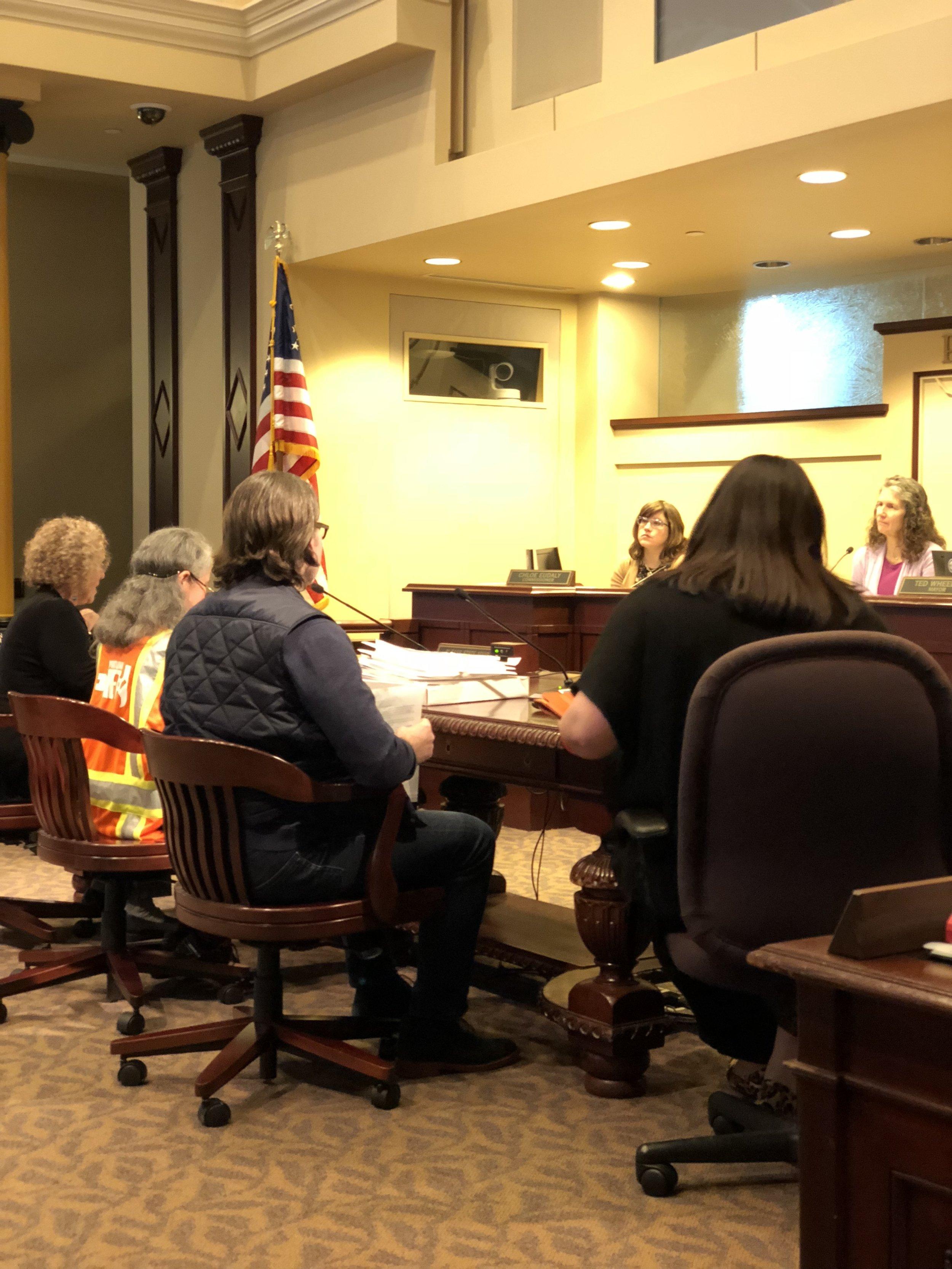 SBNA presenting to City Council