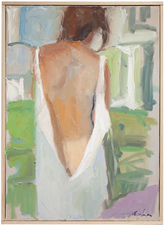 """Awakening , oil on canvas, 28"""" x 20"""""""
