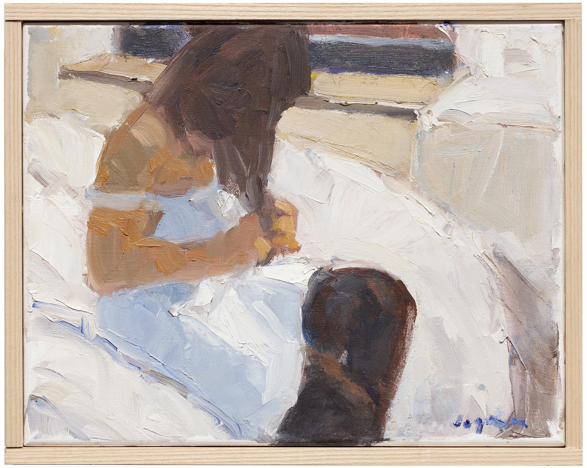 "Bianca , oil on canvas, 11"" x 14"""