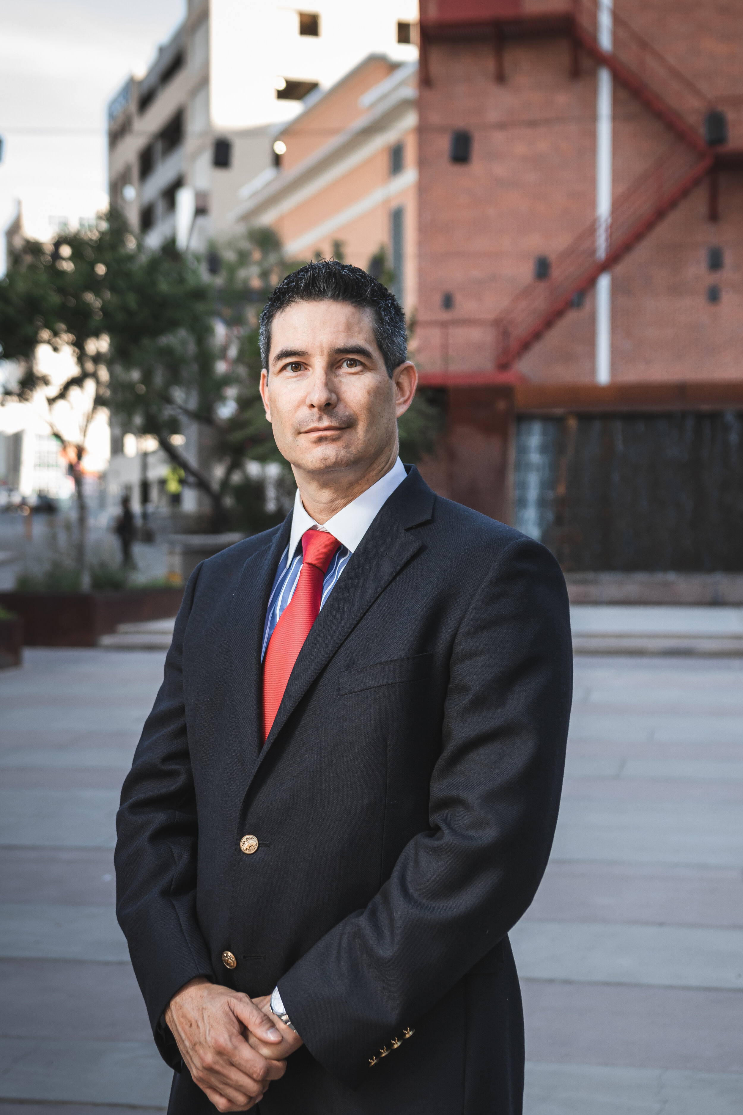 ANGEL RAMOS-TAMAYO, ARCHITECT - Firm PrincipalAngel Ramos-Tamayo is a registered architect with over twenty three years of experience, fifteen as senior architect and co-founder of New Republic Architects. Mr. Ramos is a LEED NC accredited professional (Leadership in Energy and Environmental Design) with the US Green Building Council, he also holds the congress for new urbanism accreditation from the university of Miami and is past President of the American Institute of Architects El Paso Chapter. He has served as senior architect on a broad range of educational, institutional, commercial and retail projects.Mr. Ramos' emphasis in advanced project management propels the New Republic team to be one of the best architectural firms in the region.Education:Bachelor in Architecture - 1995Professional Registrations: Registered Architect TX, 19667 Registered Architect NM 00487 Registered Architect AZ 48956 LEED Accredited Professional LEED Accredited ProfessionalProfessional Affiliations:American Institute of ArchitectsTexas Society of ArchitectsNCARB CertificationCongress for New Urbanism