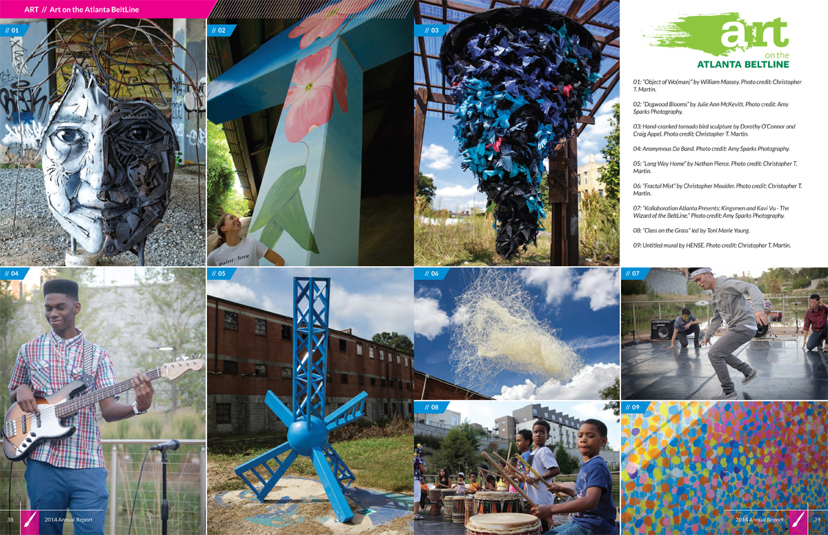 Atlanta BeltLine, Inc. Annual Report pages 38-39