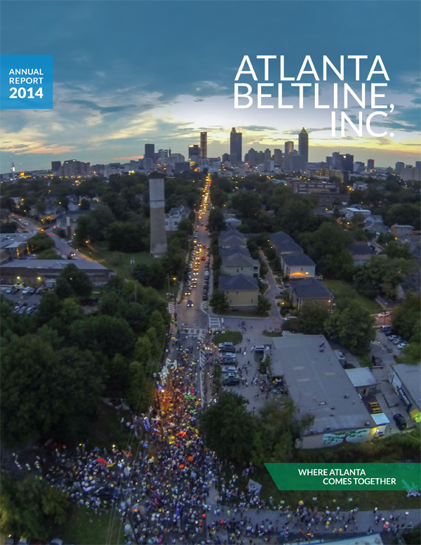 Atlanta BeltLine, Inc. 2014 Annual Report Cover Page