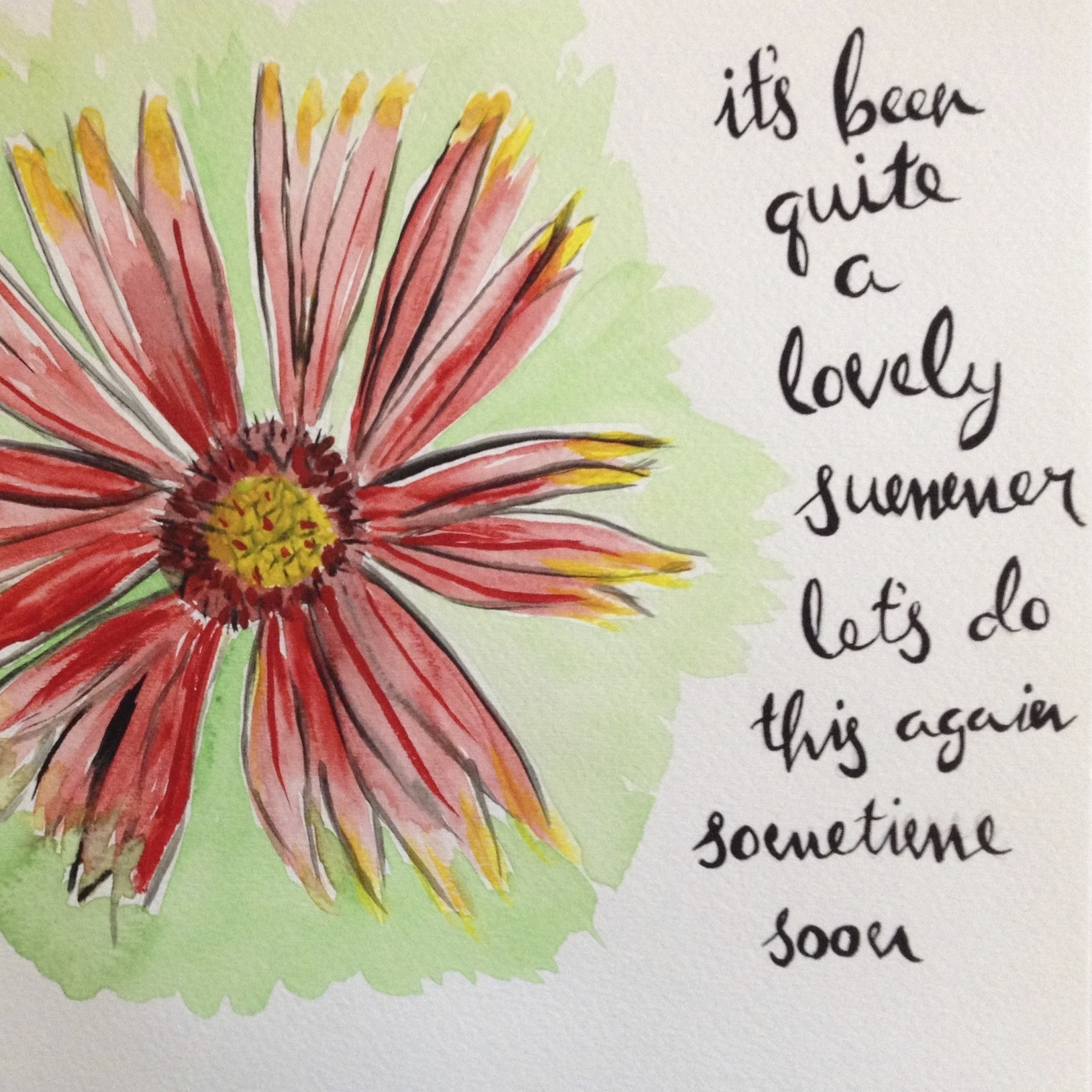 Lovely Summer Painting