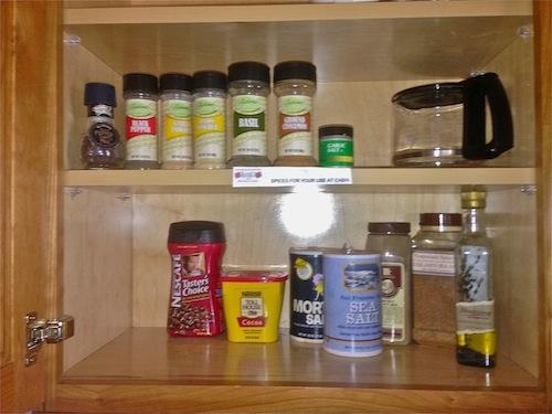 Spices, etc.