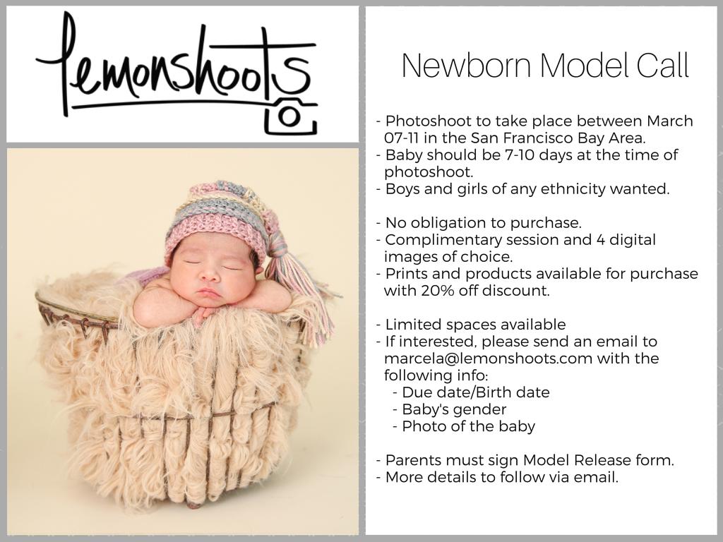 Newborn Model Call 2016