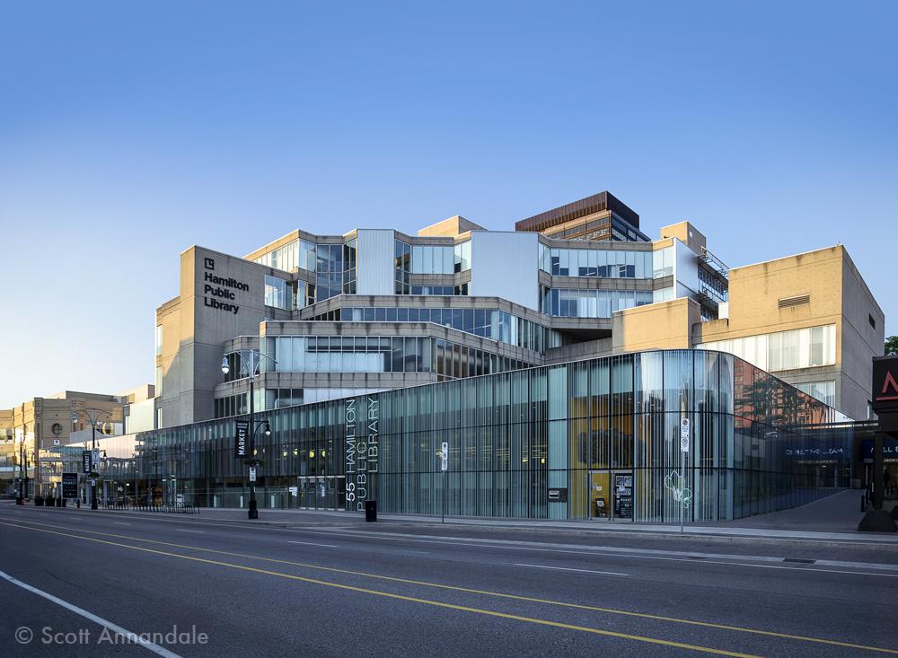 Hamilton Public Library and Market
