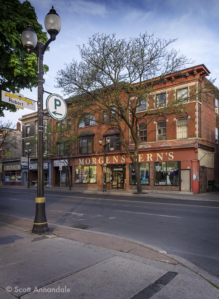 Morgenstern's, James North, Hamilton