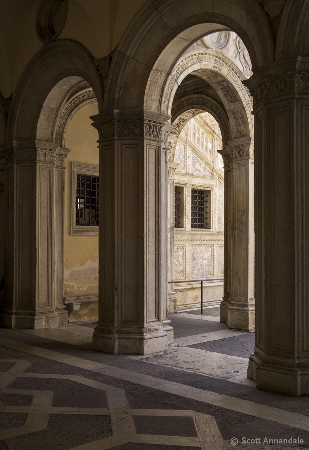 Arches, Doge's Palace, Venice