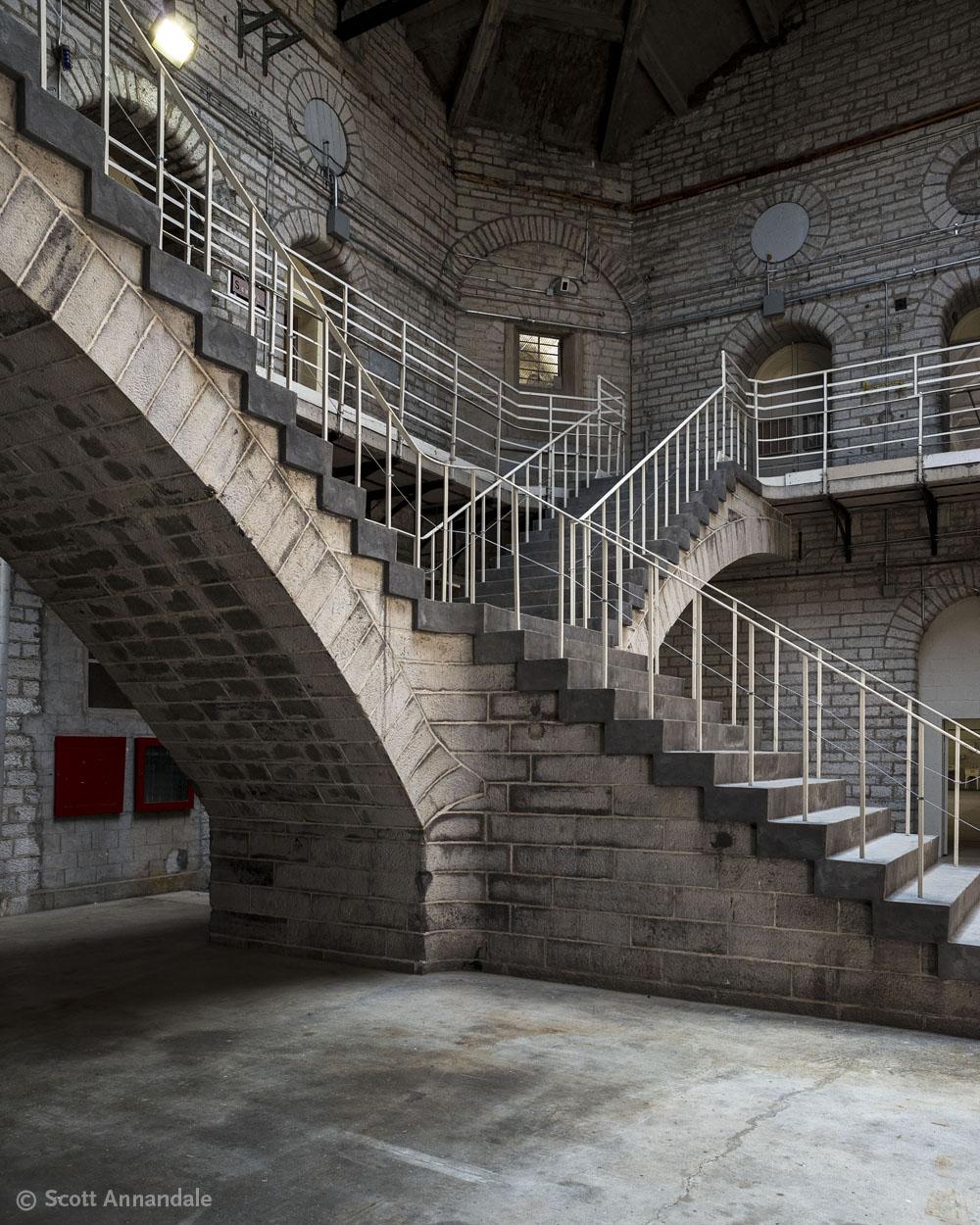 Stairway, Kingston Penitentiary