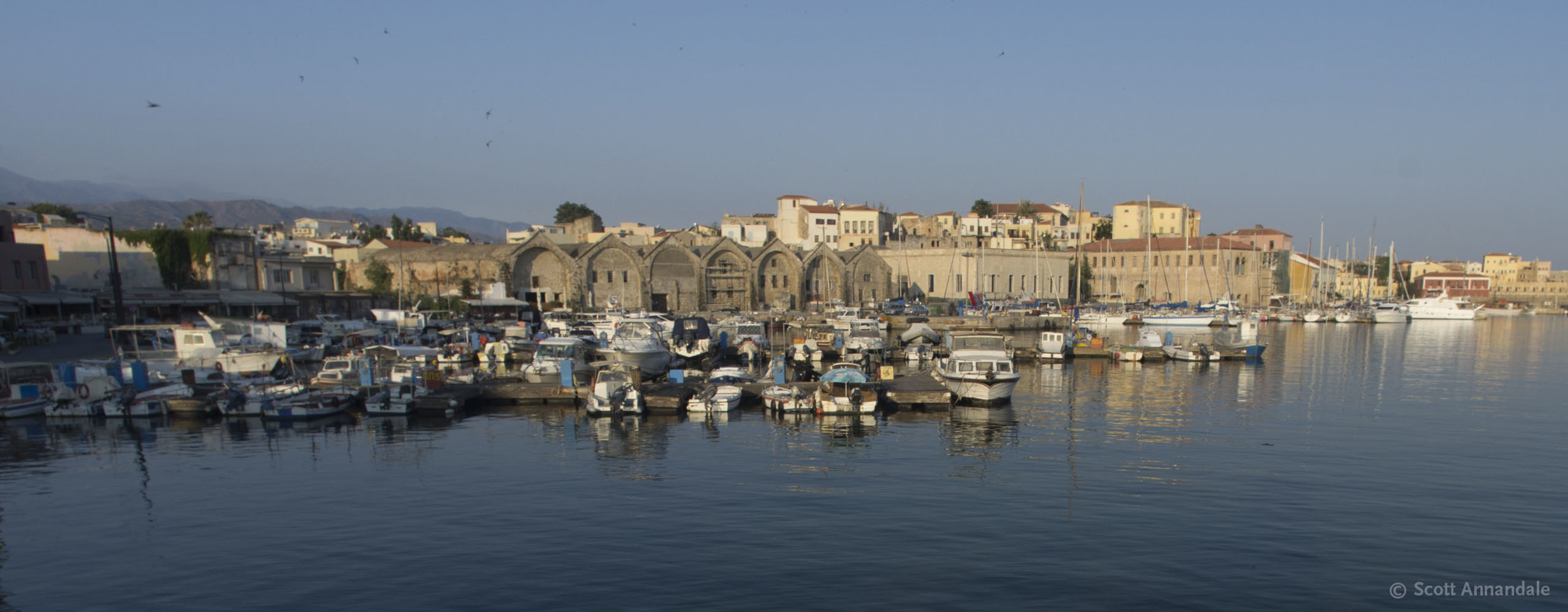 Old Venetian Harbour, Chania, Crete