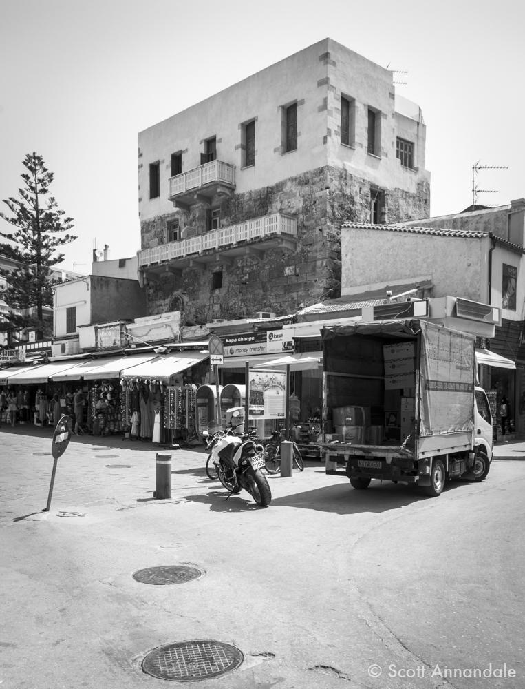 Eleftheriou Venizelou Square, Chania, Crete