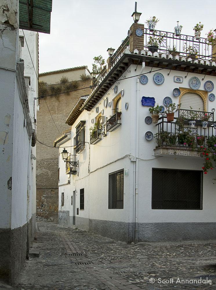 Calle Horno San Agustín, Granada