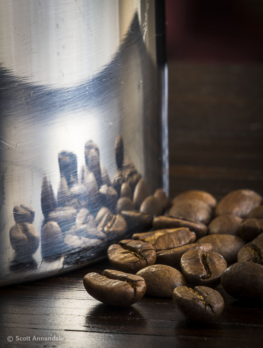 Coffee Beans and Carafe