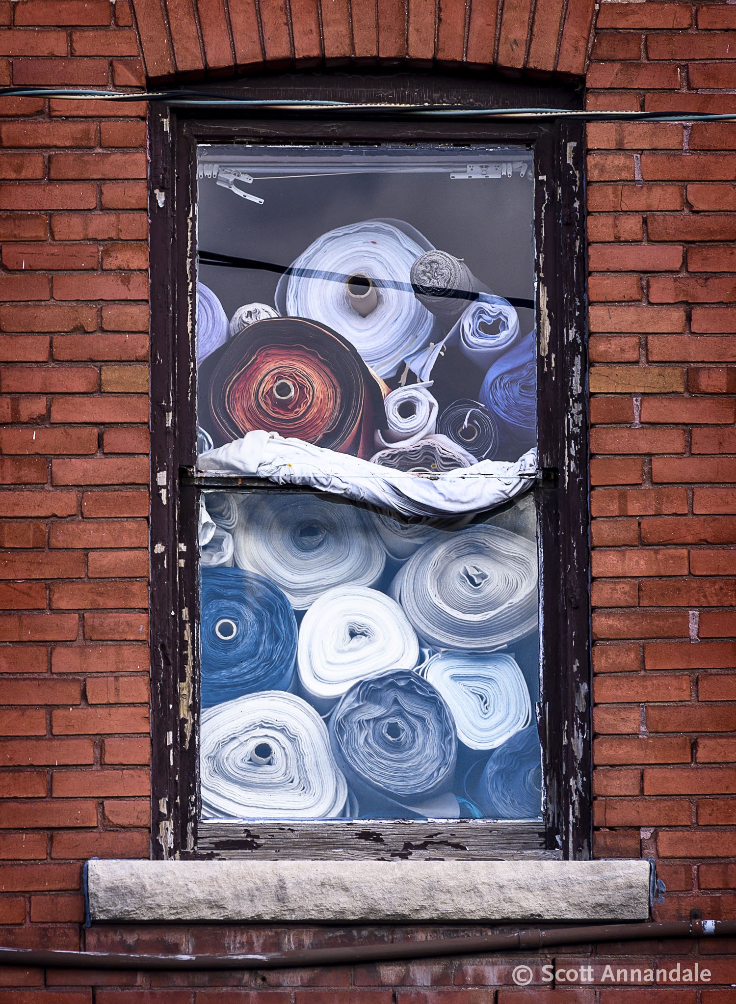 Fabric in the Window, Hamilton