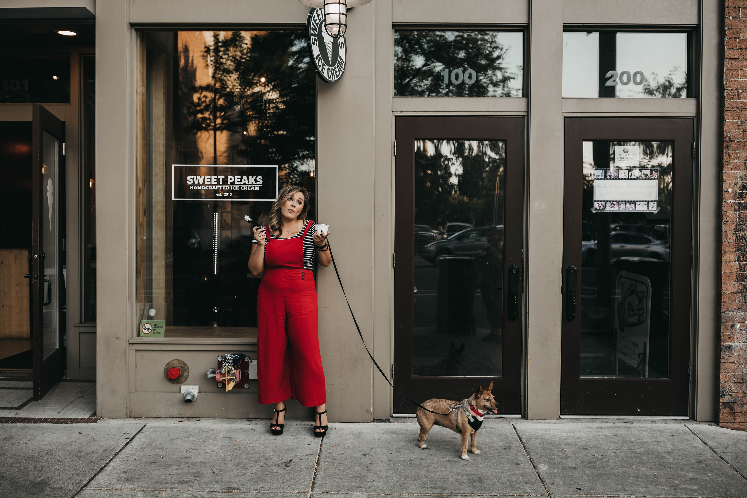 TESS | - just a boss with orders, her camera & dog.