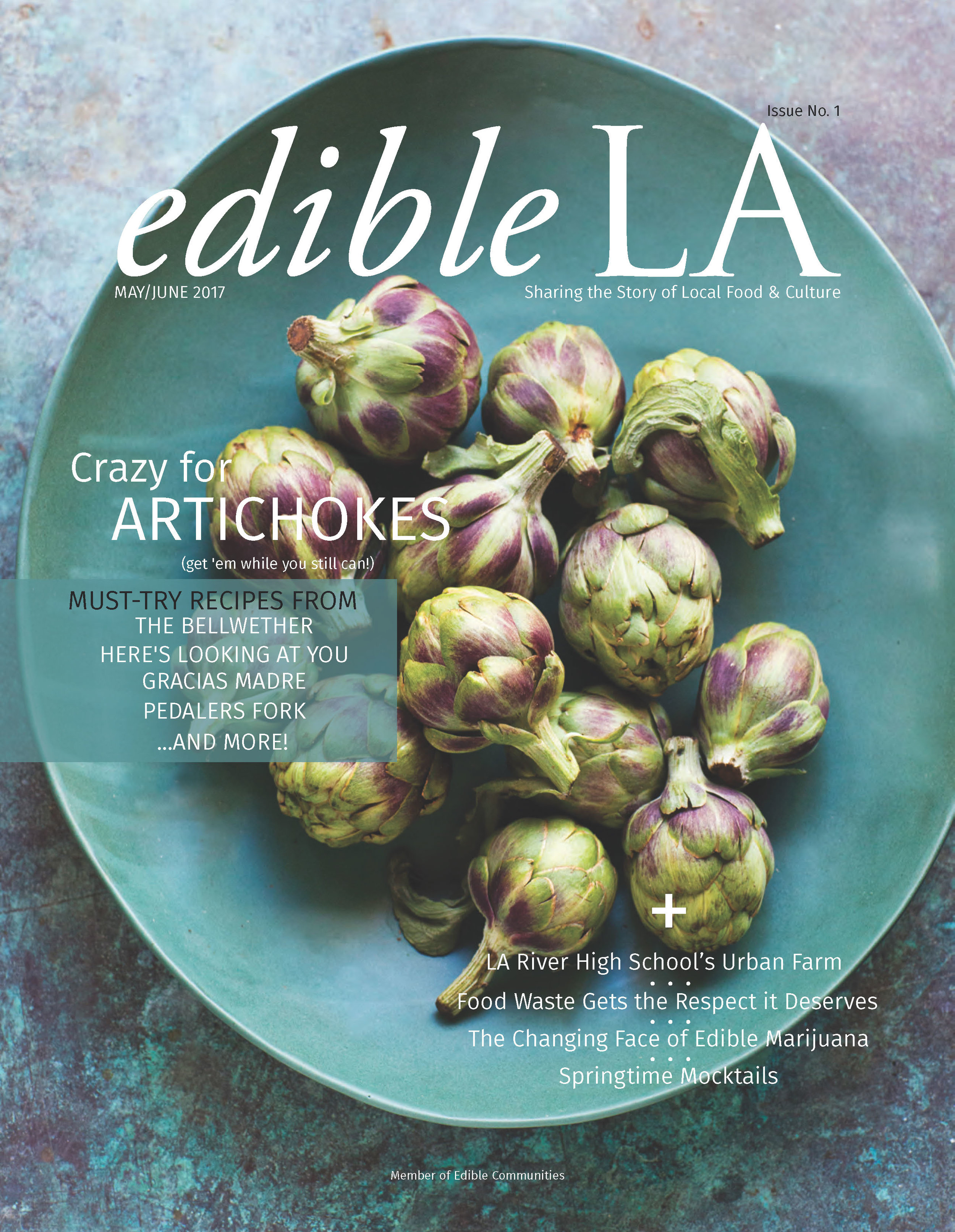 The Soul of a school - Edible LA Issue 1, May/June 2017