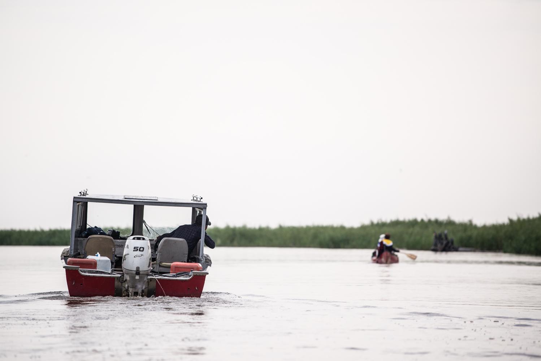 Approaching Lake Mamawi, July 2017.