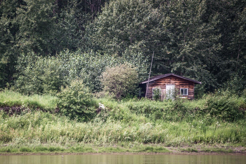 Snowbird's cabin, July 2017.