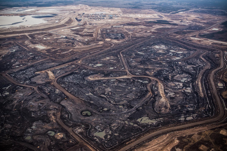 Imperial Oil Kearl Lake Mine, October 2017.
