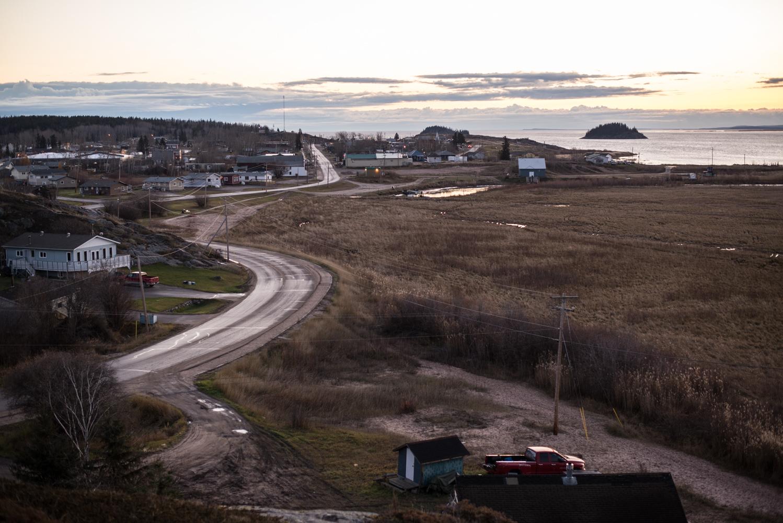 Fort Chipewyan, October 2017.