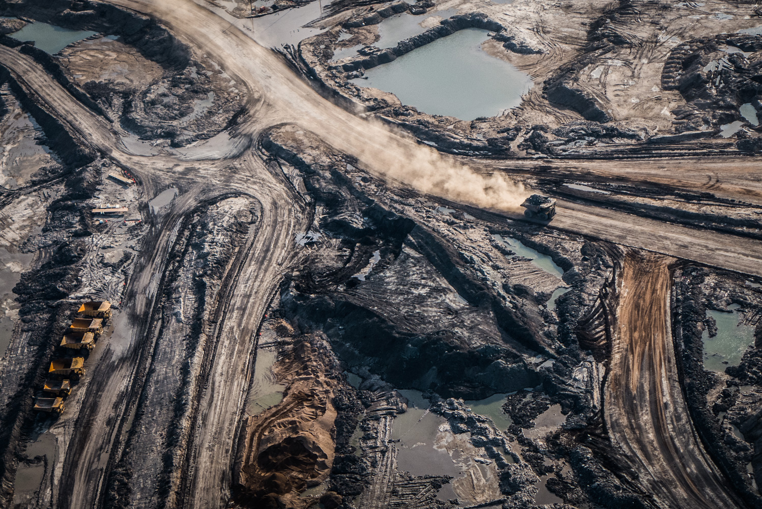 Syncrude Mildred Lake North Mine, August 2014.