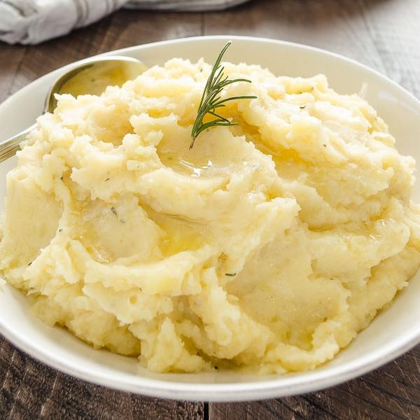 Rosemary Olive Oil Mashed Potatoes