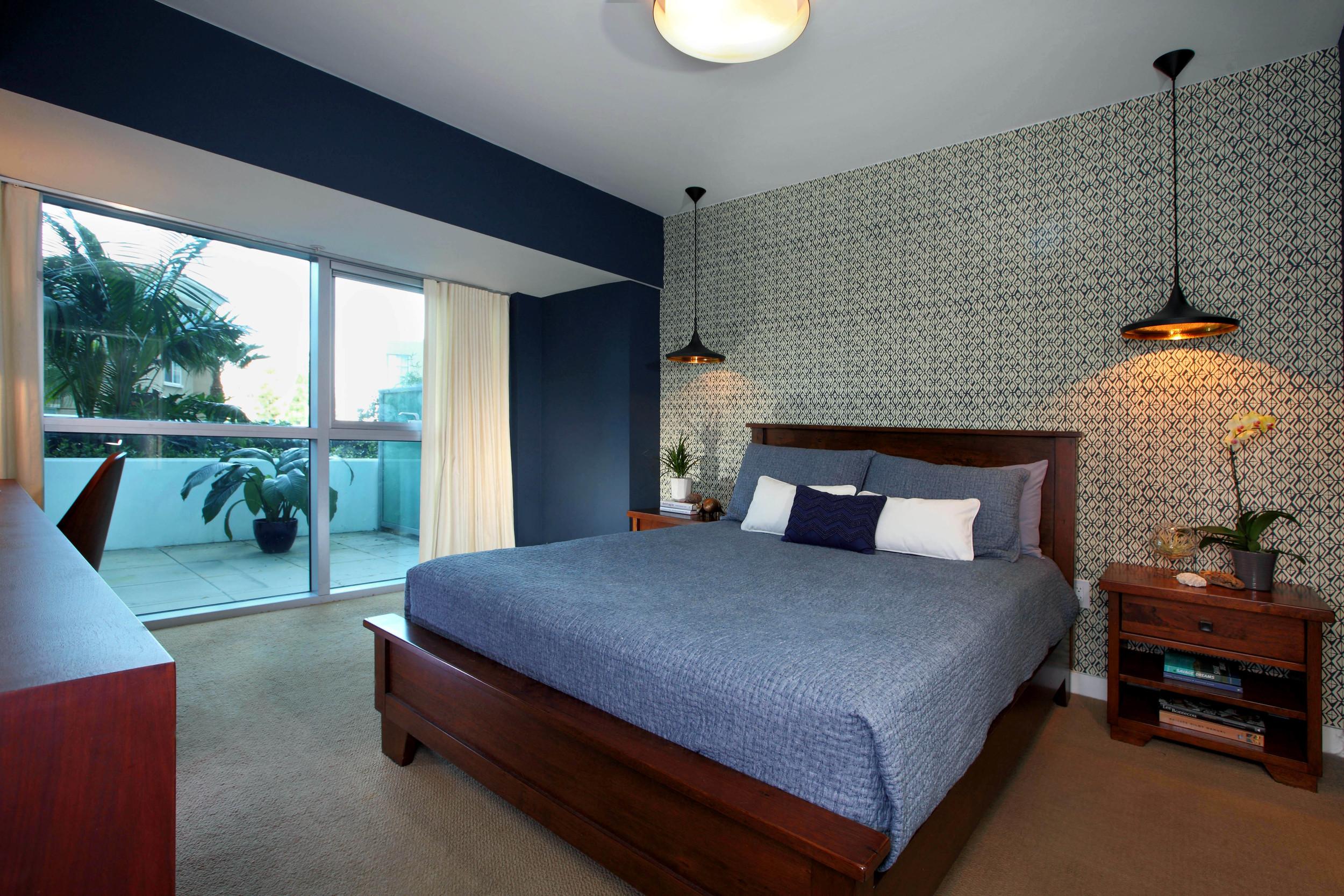 modern.blue.bedroom.design