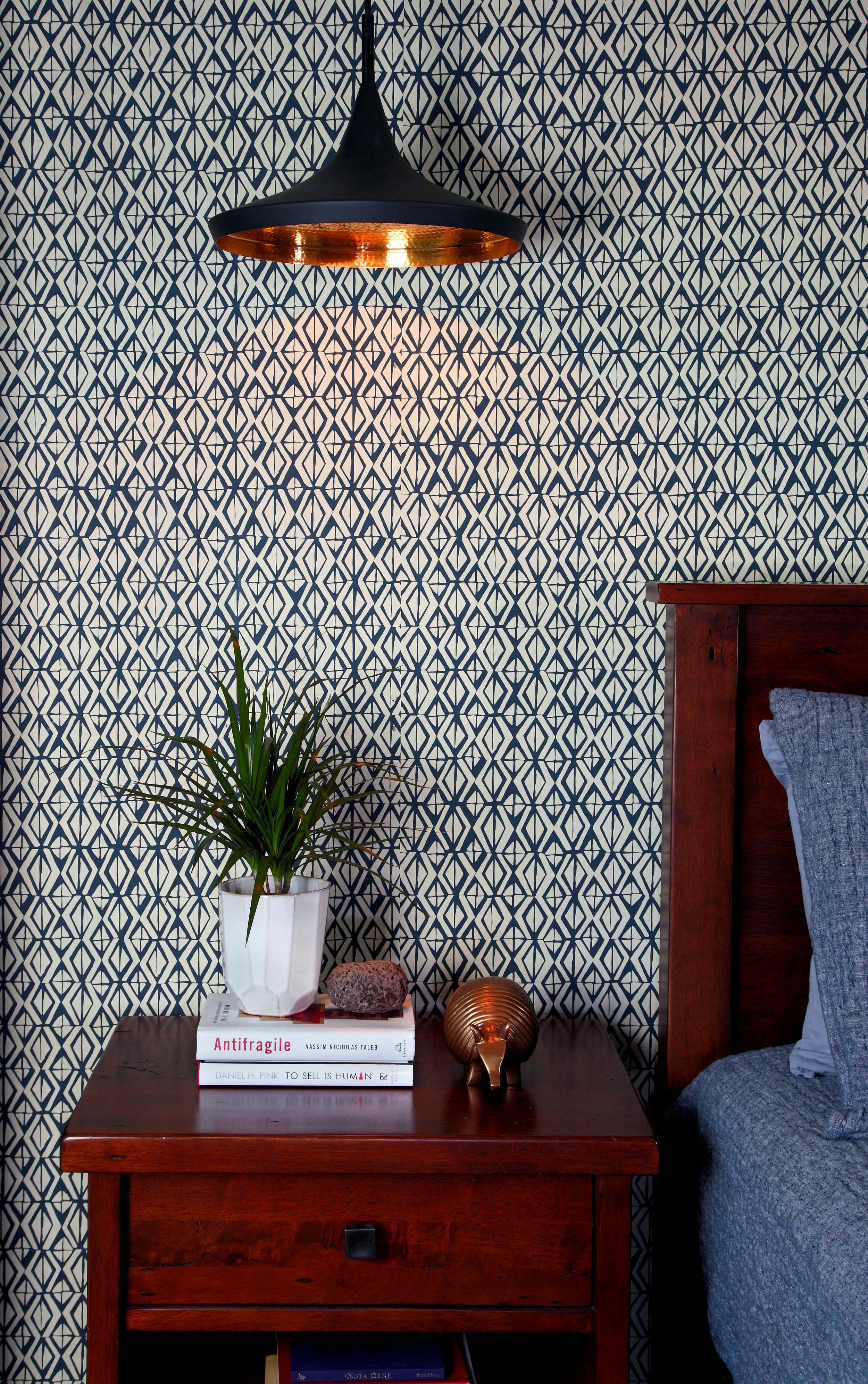 pattern.wallpaper.modern.copper.pendant